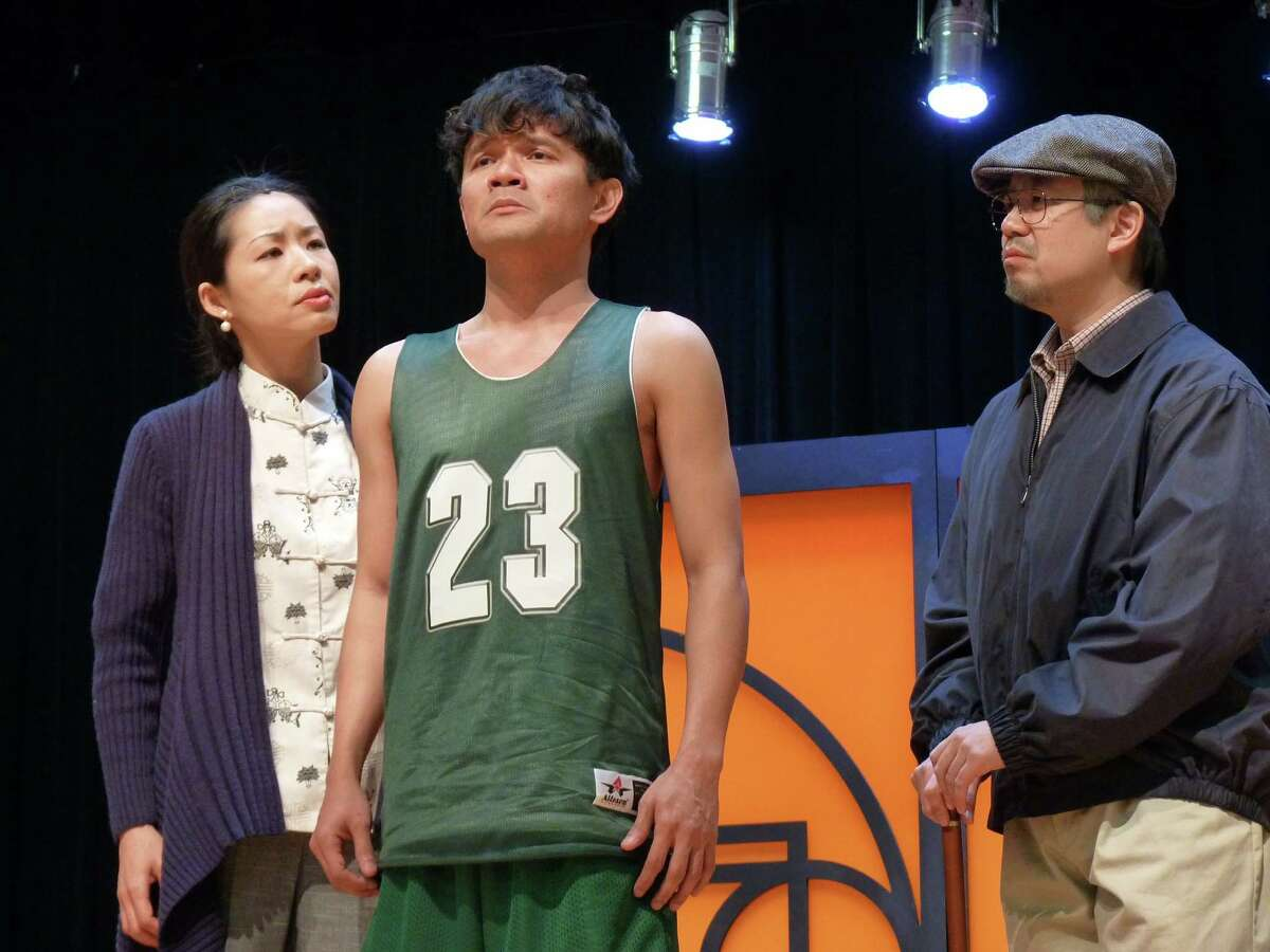 """""""Courtside,"""" from Houston Grand Opera's Song of Houston series, looks at three generations of Chinese-Americans."""