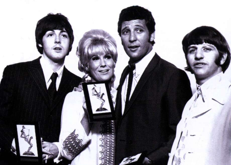 Paul McCartney, Dusty Springfield, Tom Jones, Ringo Starr posed at Melody Maker Awards  (Photo by GAB Archive/Redferns) Photo: GAB Archive, Redferns