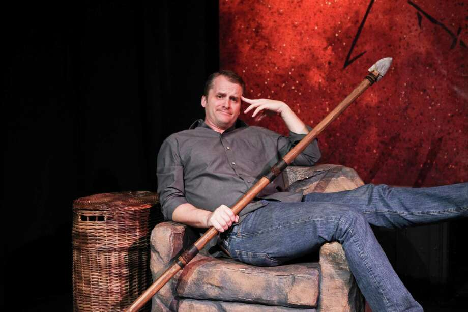 """John Venable, the star of the one-man comedy production, """"Defend The Caveman,"""" comes to Stamford's Palace Theatre on Saturday, Feb. 22. Photo: Contributed Photo / Connecticut Post Contributed"""