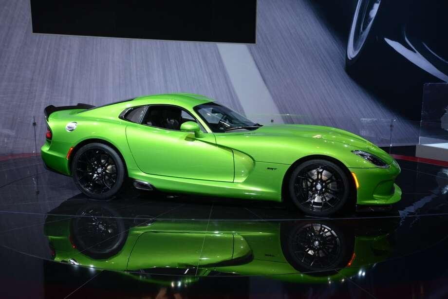 The SRT Stryker Green Viper (Photo: Newspress) Photo: Newspress