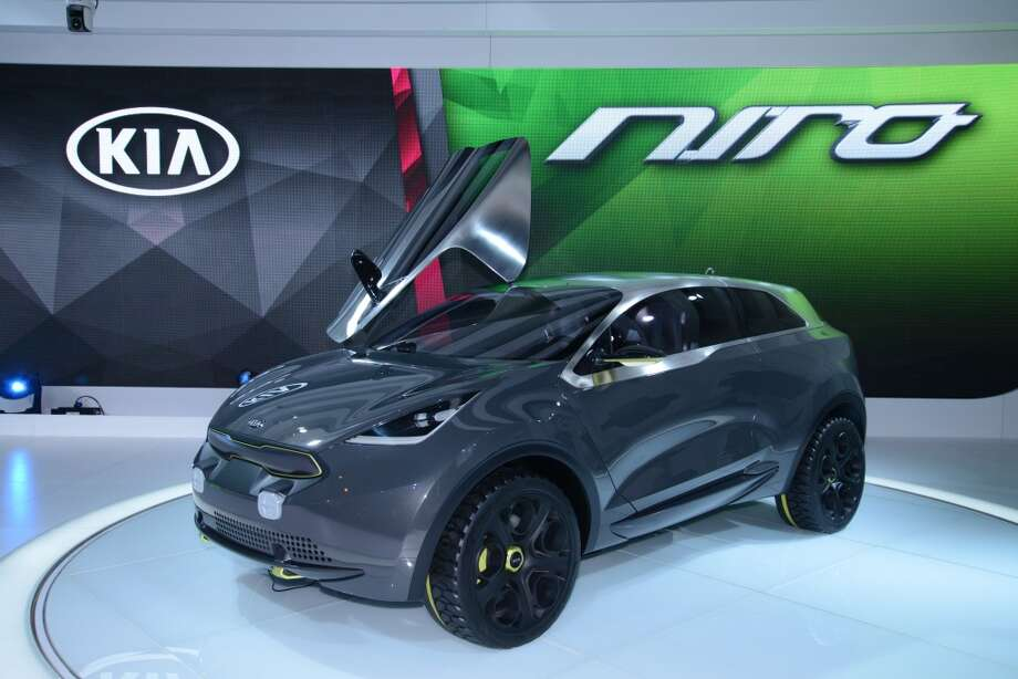 The Kia Niro Concept (Photo: Newspress) Photo: Newspress