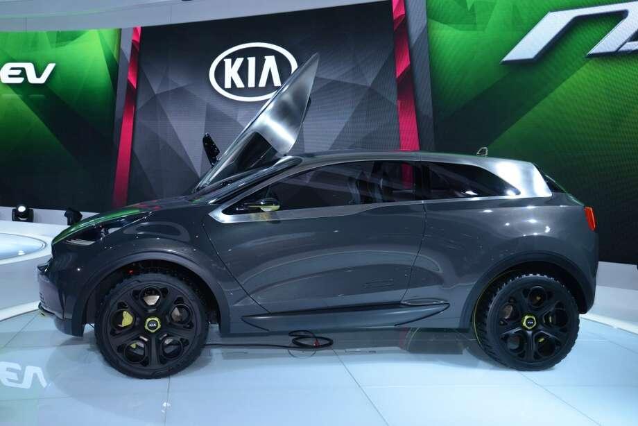 The Kia Niro Concept (Photo: Newspress) Photo: Newspress