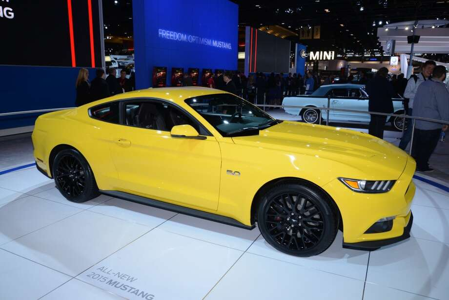 The 2015 Ford Mustang (Photo: Newspress) Photo: Newspress