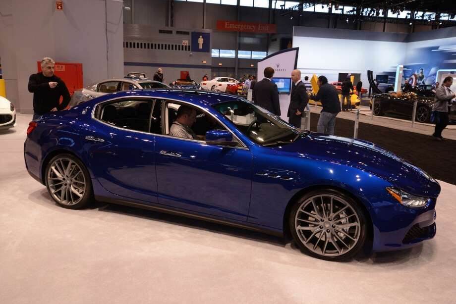 The Maserati Ghibli (Photo: Newspress) Photo: Newspress