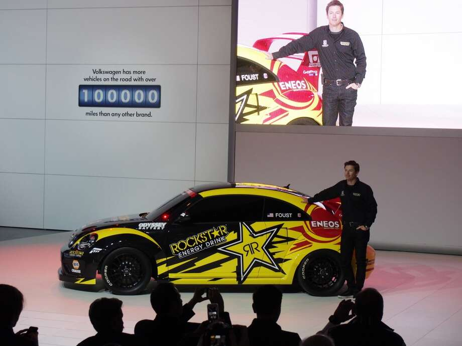The Volkswagen GRC Beetle (Photo: Newspress) Photo: Newspress