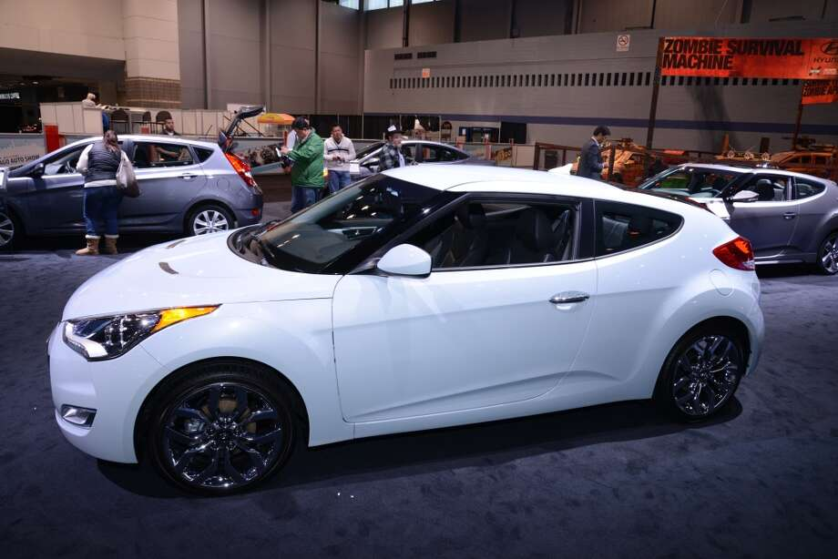 The Hyundai Veloster (Photo: Newspress) Photo: Newspress