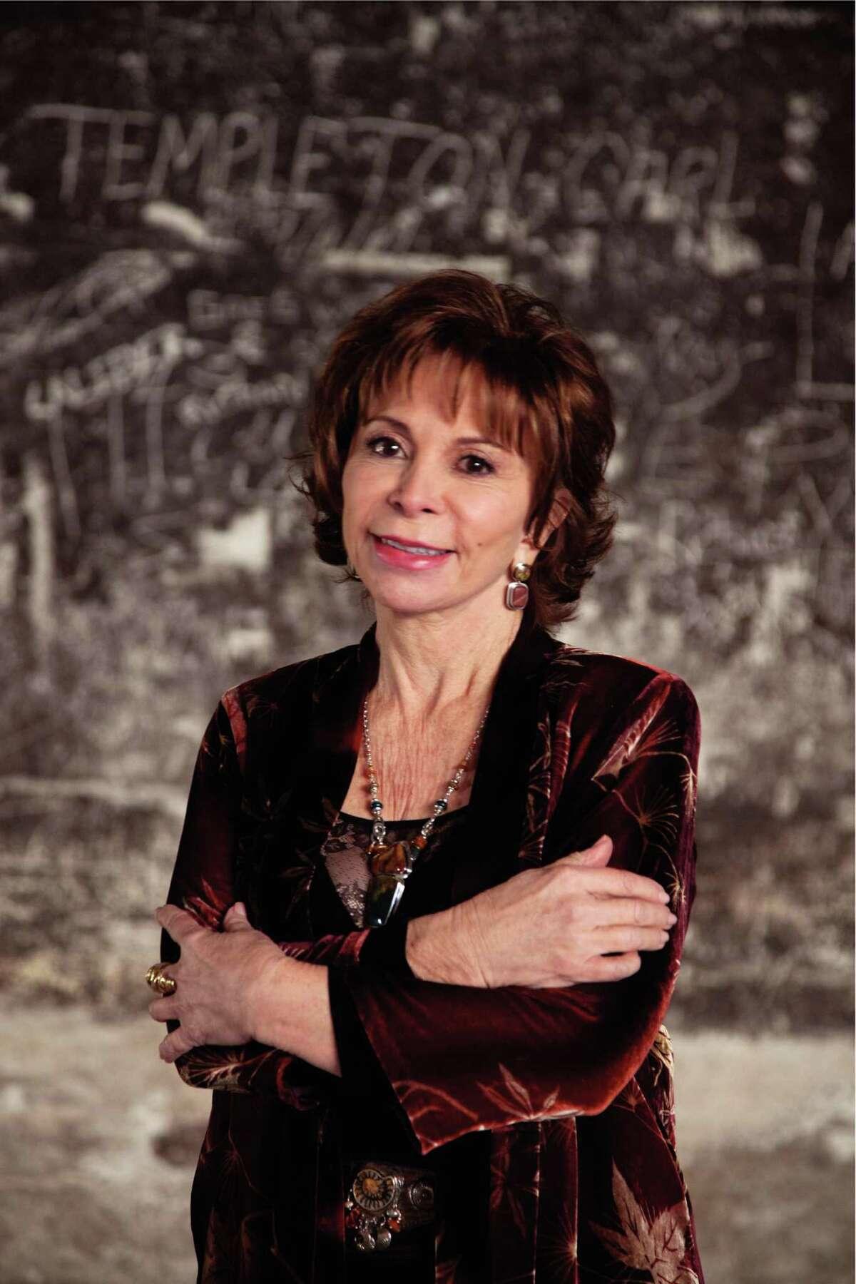 Author Isabel Allende in 2013