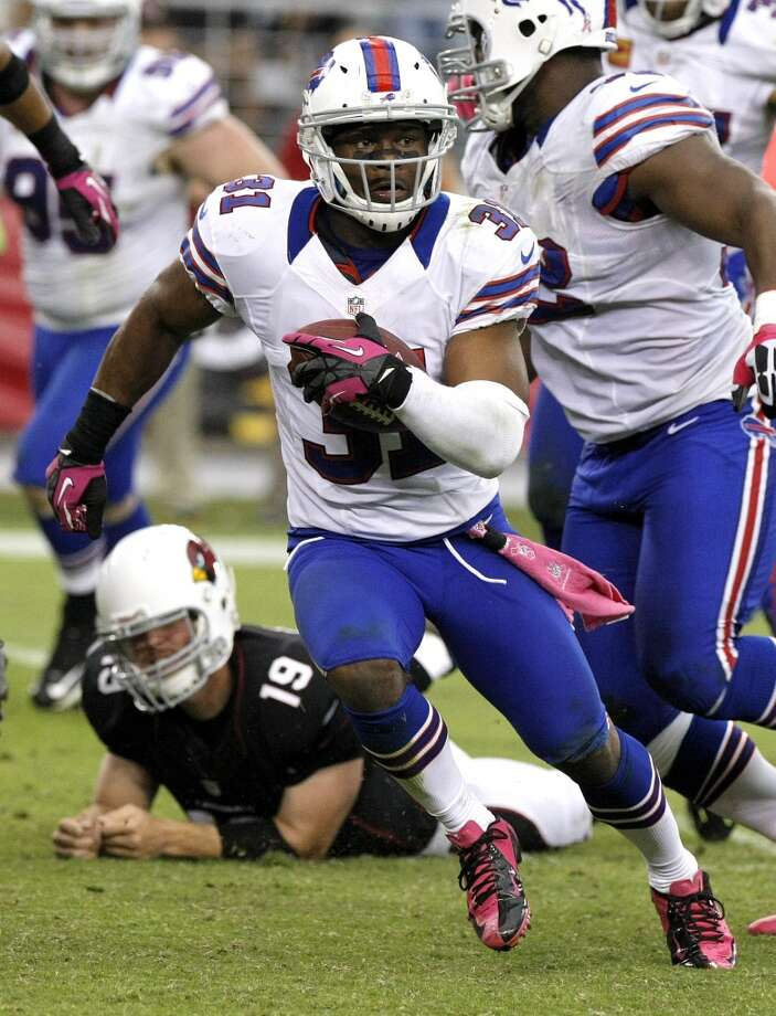 Jairus Byrd, FS, Buffalo Bills 2013 stats: 48 tackles, 4 interceptions and 1 sack Photo: Rick Scuteri, Associated Press