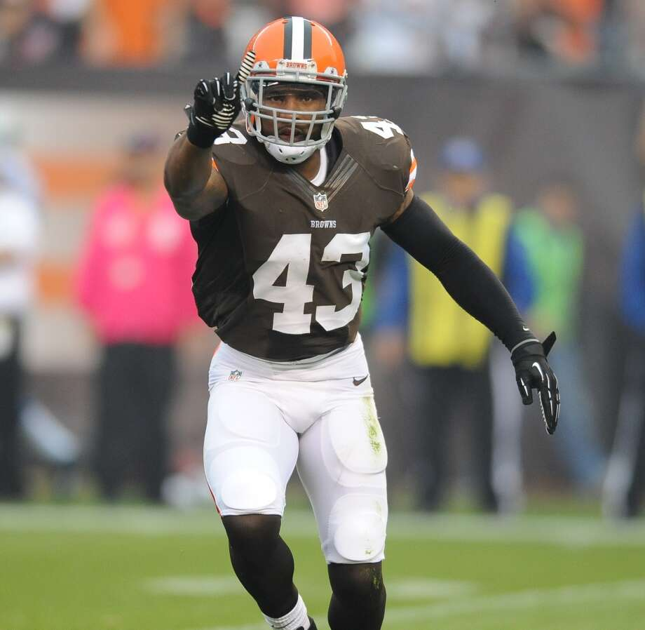T.J. Ward, SS, Cleveland Browns 2013 stats: 112 tackles, 2 interceptions and 2 TDs Photo: Diamond Images, Getty Images
