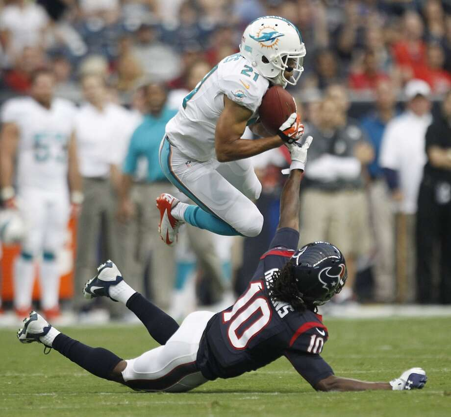 Brent Grimes, CB, Miami Dolphins 2013 stats: 60 tackles, 4 interceptions and 1 TD Photo: Brett Coomer, Houston Chronicle
