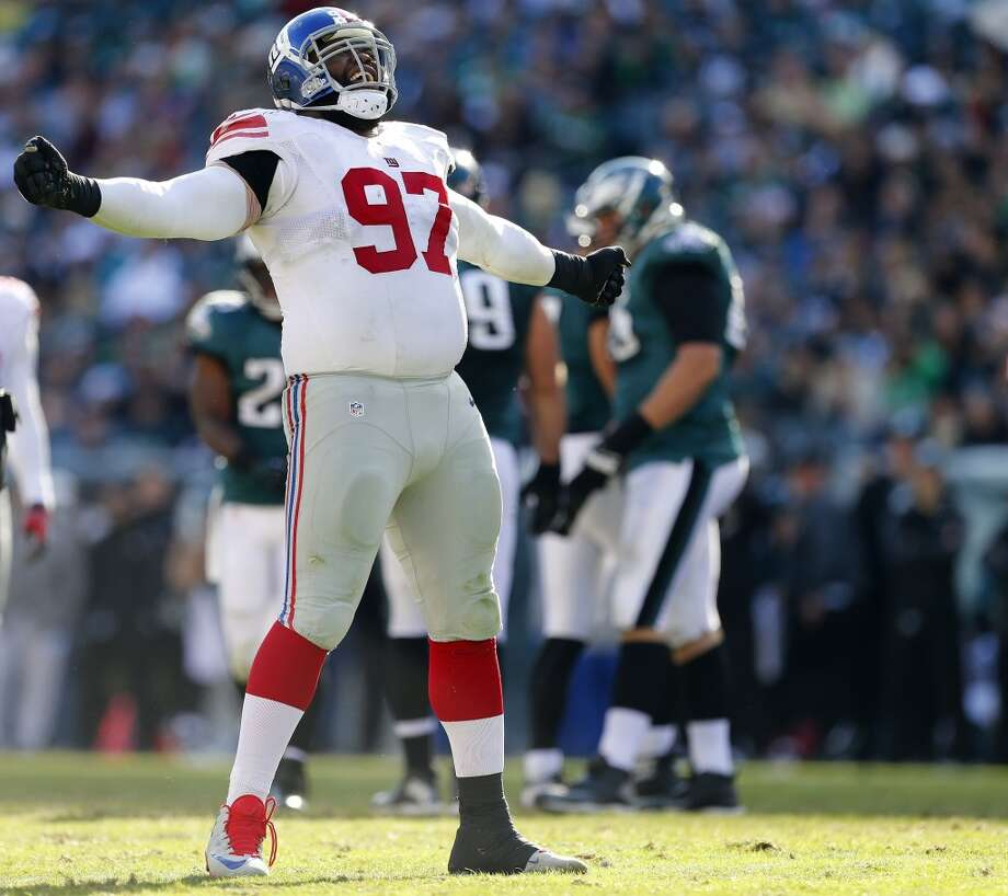 Linval Joseph, DT, New York Giants 2013 stats: 59 tackles, 3 sacks and 1 forced fumble Photo: Rich Schultz, Getty Images