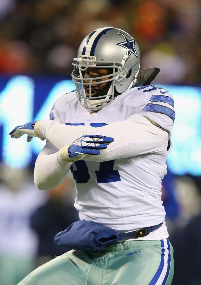 Jason Hatcher, DT, Dallas Cowboys 2013 stats: 41 tackles, 11 sacks and 2 forced fumbles Photo: Al Bello, Getty Images