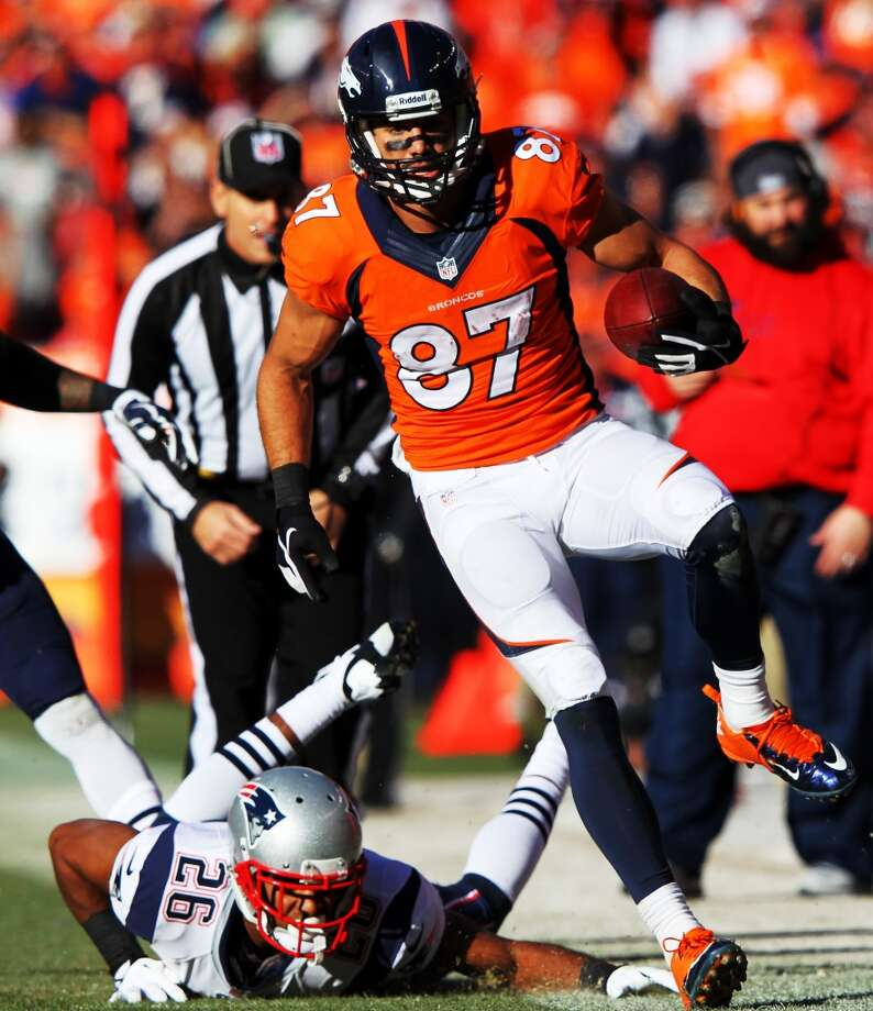 Eric Decker, WR, Denver Broncos 2013 stats: 87 receptions, 1,288 yards and 11 TDs Photo: Jamie Squire, Getty Images