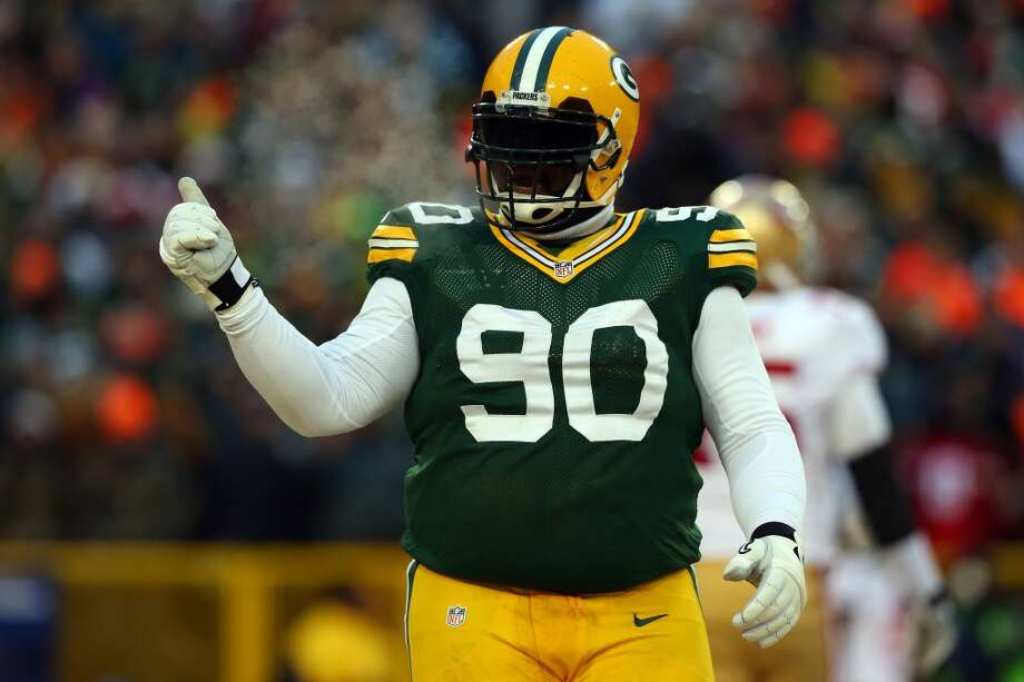 B.J. Raji, DT, Green Bay Packers 2013 stats: 17 tackles and 3 tackles for a loss Photo: Ronald Martinez, Getty Images