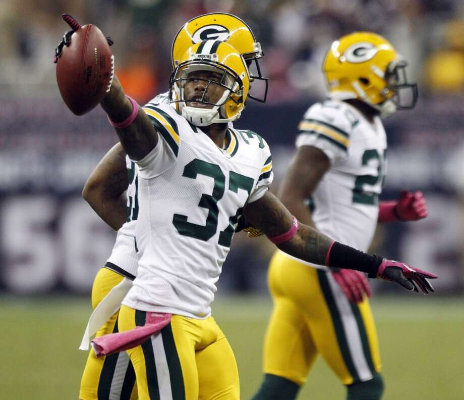 Sam Shields, CB, Green Bay Packers 2013 stats: 61 tackles and 4 interceptions Photo: Brett Coomer, Houston Chronicle