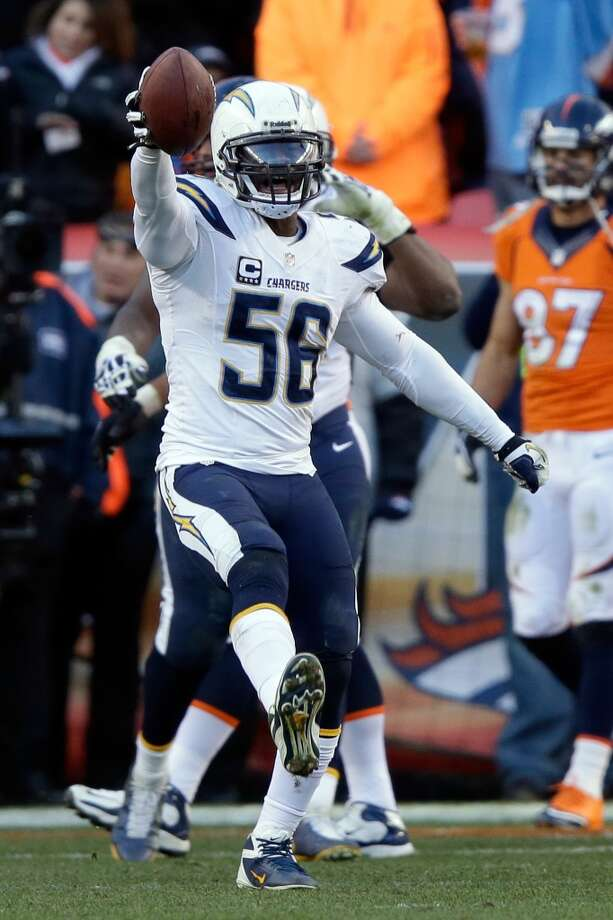 Donald Butler, LB, San Diego Chargers 2013 stats: 84 tackles, 4 tackles for a loss and 1 interception Photo: Ezra Shaw, Getty Images