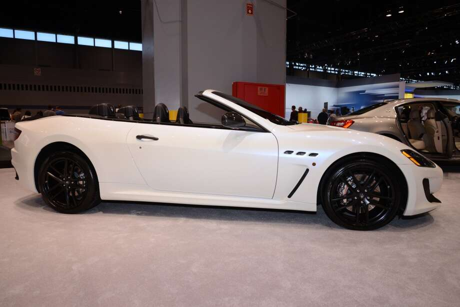 The Maserati Gran Turismo Convertible MC (Photo: Newspress) Photo: Newspress