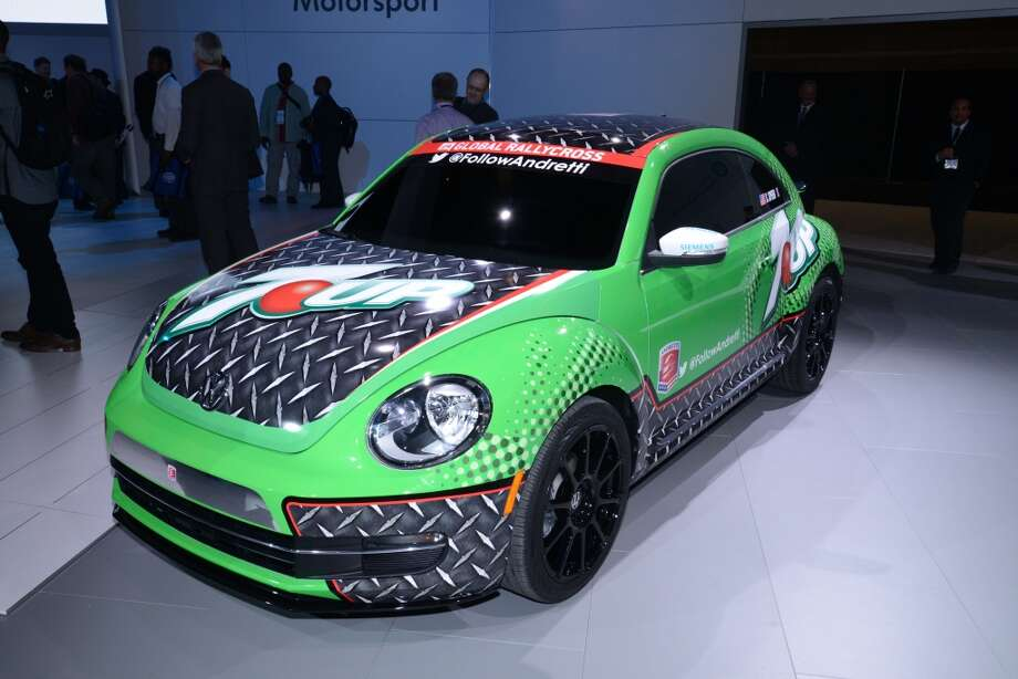 The Volkwagen GRC Beetle (Photo: Newspress) Photo: Newspress