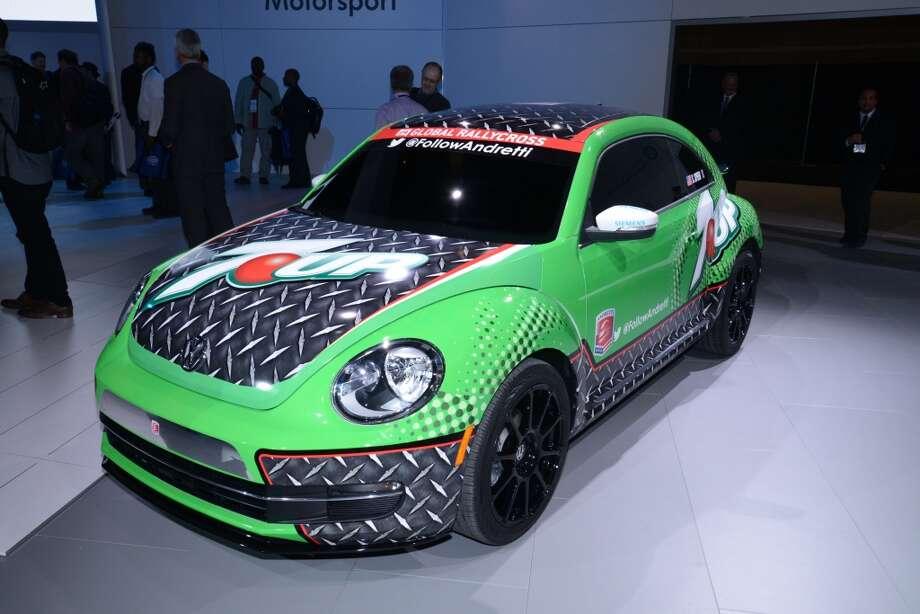 The Volkwagen GRC Beetle (Photo: Newspress) Photo: Newspress