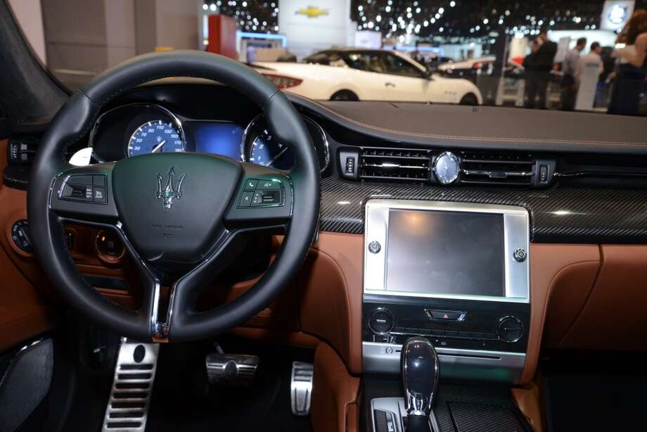 The Maserati Quattroporte (Photo: Newspress) Photo: Newspress