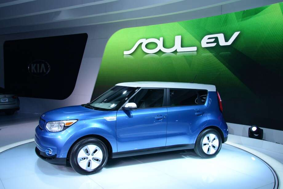 The Kia Soul EV (Photo: Newspress) Photo: Newspress