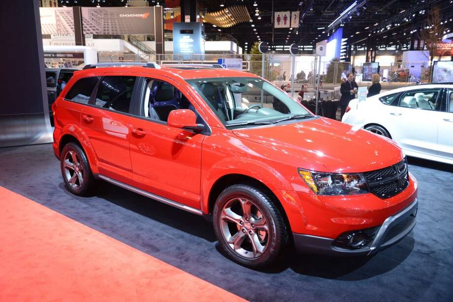 The Dodge Journey Crossroad (Photo: Newspress) Photo: Newspress