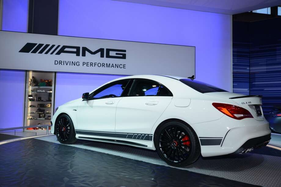 The Mercedes-Benz CLA 45 AMG (Photo: Newspress) Photo: Newspress
