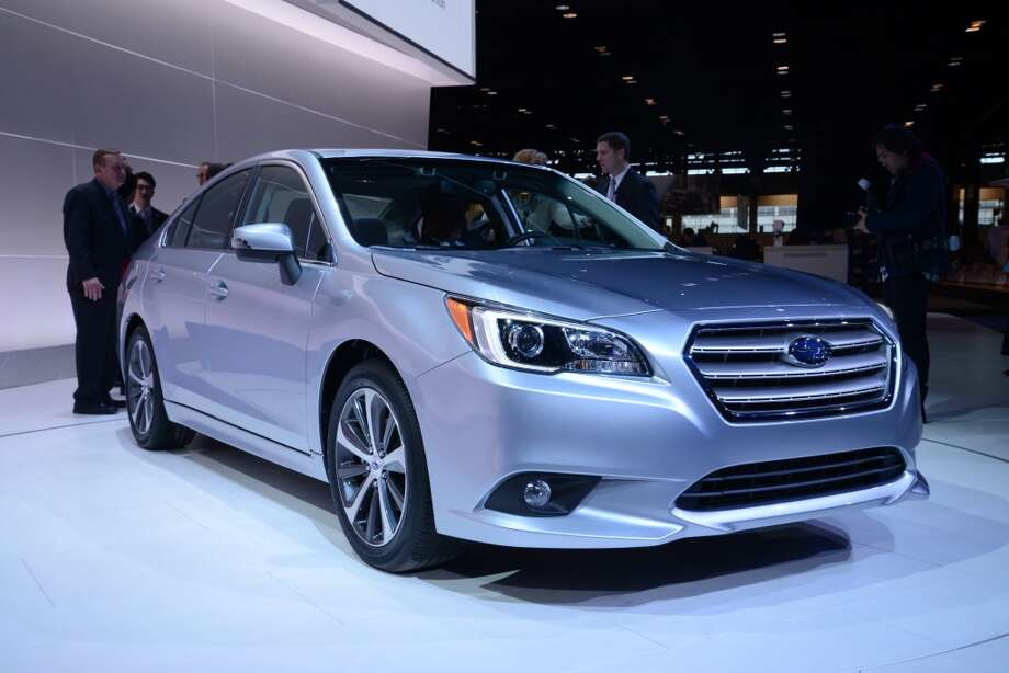 The Subaru Legacy (Photo: Newspress) Photo: Newspress