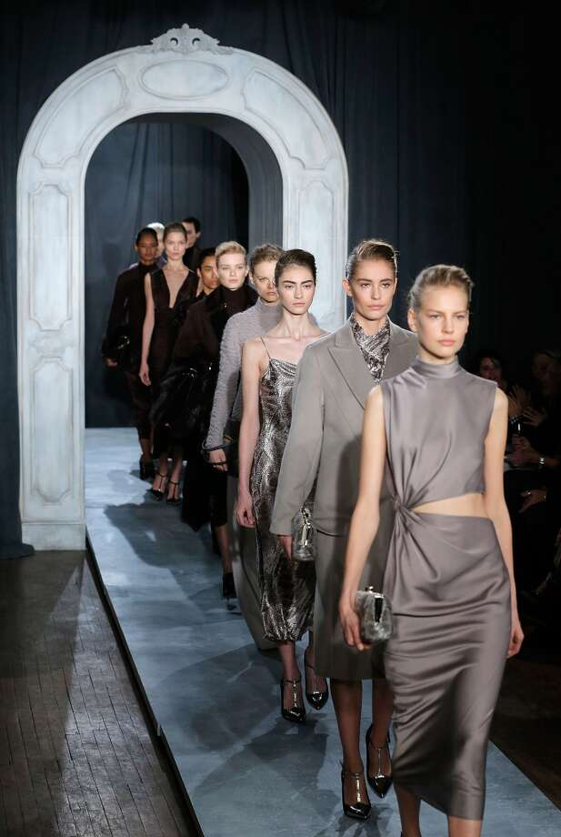 Models walk the runway at the Jason Wu Fall 2014 Runway show during Mercedes-Benz Fall 2014 Fashion Week on February 7, 2014 in New York City. Photo: Jemal Countess, Getty Images