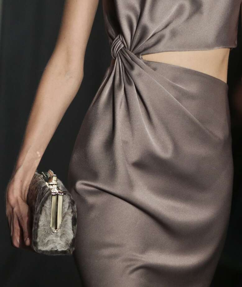 A detail from the Jason Wu Fall 2014 collection is modeled, during New York Fashion Week. Photo: Bebeto Matthews, Associated Press