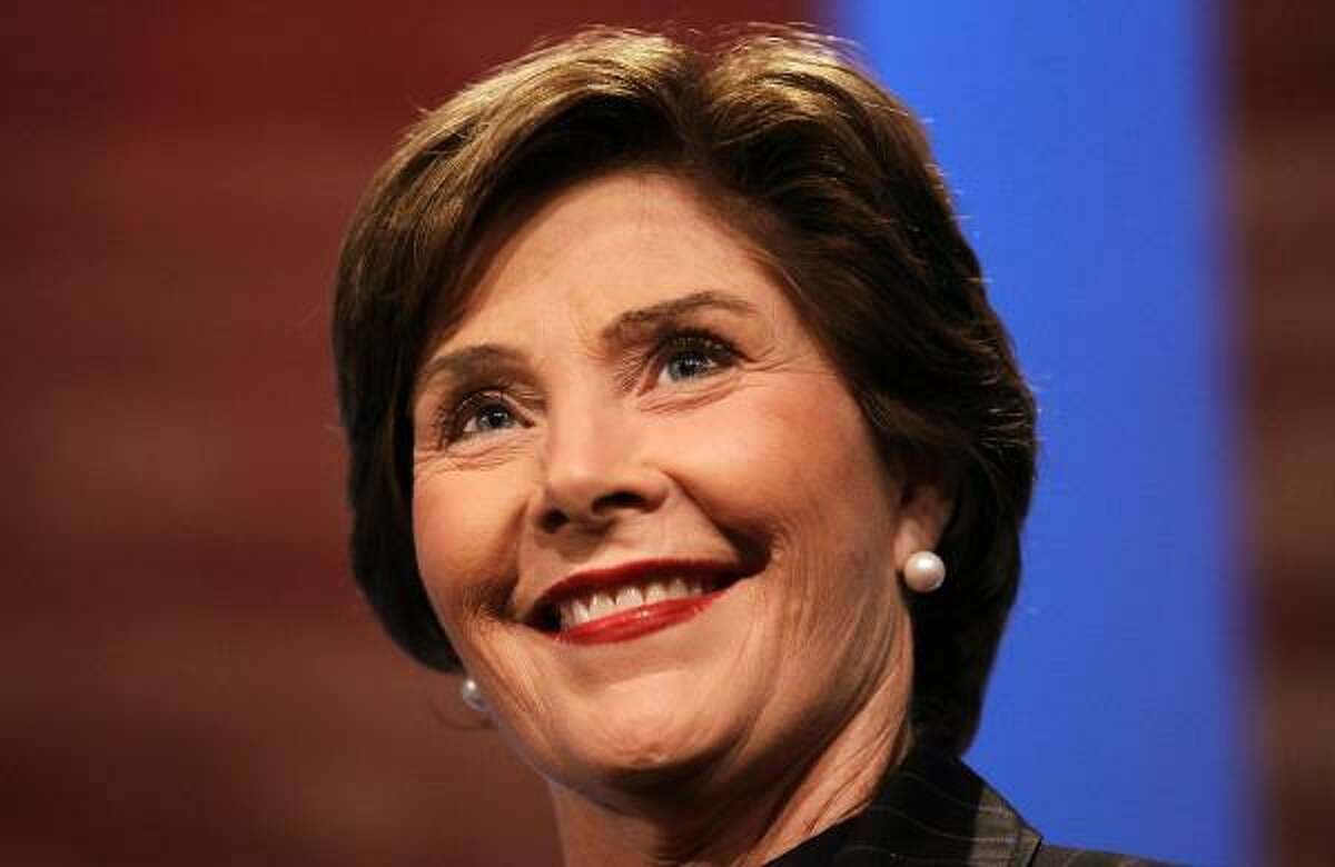 The following are famous Girl Scouts Former First Lady Laura Bush
