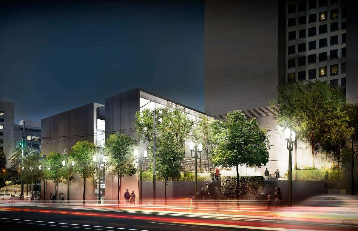 The redesign of the proposed Apple Store for Union Square in S.F. retains the retailer's hallmark steel and glass and preserves the Ruth Asawa fountain.