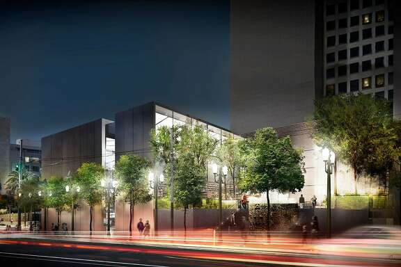 The design approved by San Francisco's Planning Commission for an Apple store on Union Square is an ultra-modern box of steel and glass, but changes along Post Street keep the design a bit closer to the traditional architectural patterns of the area.  Also, the popular fountain by Ruth Asawa will become the centerpiece of a new plaza on Stockton Street.