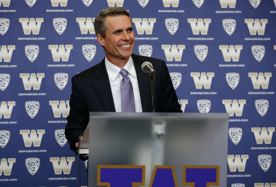 On Wednesday, while most of Seattle jammed the streets to celebrate the Seahawks' Super Bowl XLVIII victory, Chris Petersen introduced his first recruiting class as head coach of the Washington Huskies. After taking over for the departing Steve Sarkisian in early December, Petersen had less than two months to assemble a full class for the Dawgs. He did just that, signing 24 prospects to national letters of intent, several of whom had been committed to him at Boise State before he took over at Washington. While the initial rankings don't impress as much as the Huskies' final couple of classes under Sarkisian -- 247Sports ranked the class No. 37 in the country and seventh in the Pac-12 -- Petersen has been known as someone who can develop lesser-ranked players and turn them into pro-level prospects by the end of their college careers. The fact that signing day came and went on Seahawks parade day is perhaps a fitting beginning for a mostly under-the-radar group. So who will be taking the field for Petersen and the Huskies in the years to come? Click through the gallery to meet some of the newest Dawgs. (Photo by Otto Greule Jr/Getty Images) Photo: Otto Greule Jr, Getty Images