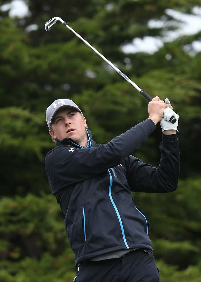Jordan Spieth is tied with Jimmy Walker for first place. Photo: Jeff Gross, Getty Images
