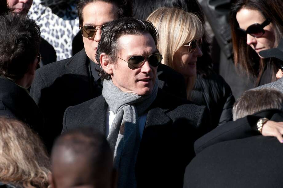 NEW YORK, NY - FEBRUARY 07:  Billy Crudup attends the funeral service for actor Philip Seymour Hoffman at St. Ignatius Of Loyola on February 7, 2014 in New York City. Hoffman died of an alleged drug overdose on February 1, 2014.  (Photo by D Dipasupil/Getty Images) Photo: D Dipasupil, Getty Images