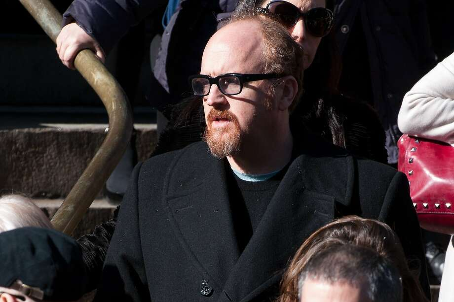 NEW YORK, NY - FEBRUARY 07:  Louis C.K. attends the funeral service for actor Philip Seymour Hoffman at St. Ignatius Of Loyola on February 7, 2014 in New York City. Hoffman died of an alleged drug overdose on February 1, 2014.  (Photo by D Dipasupil/Getty Images) Photo: D Dipasupil, Getty Images
