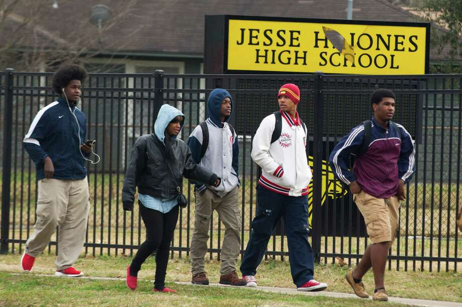 Jesse H. Jones High School, which once housed the Vanguard gifted program, is one of five schools set for closure by Houston ISD.  Photo: Brett Coomer, Staff / © 2014 Houston Chronicle