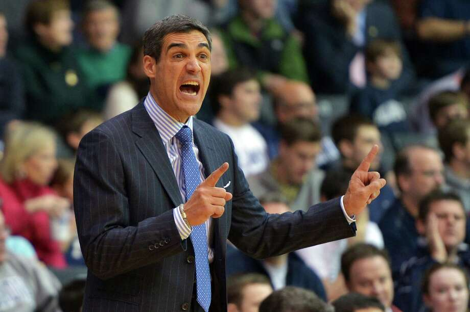 VILLANOVA, PA - FEBRUARY 07: Head coach Jay Wright of the Villanova Wildcats reacts during the game against the Seton Hall Pirates at The Pavilion on February 7, 2014 in Villanova, Pennsylvania.  (Photo by Drew Hallowell/Getty Images) ORG XMIT: 465924239 Photo: Drew Hallowell / 2014 Getty Images