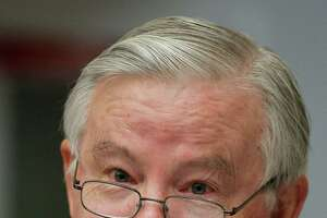 Rep. Joe Barton, R-Texas, makes his opening statement during a House Subcommittee on Oversight and Investigations and the Subcommittee on Energy and Environment joint hearing on the role of the Interior Department in the Deepwater Horizon disaster on Capitol Hill in Washington Tuesday, July 20, 2010. The hearing examines the Interior Department's actions before and since the Deepwater Horizon explosion on April 20, 2010.  (AP Photo/Manuel Balce Ceneta)