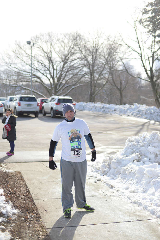 Were you SEEN running and raising money for the Stratford Y? Photo: Andrew Merrill