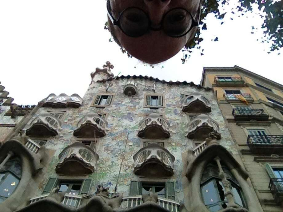 Gaudi building in Barcelona.