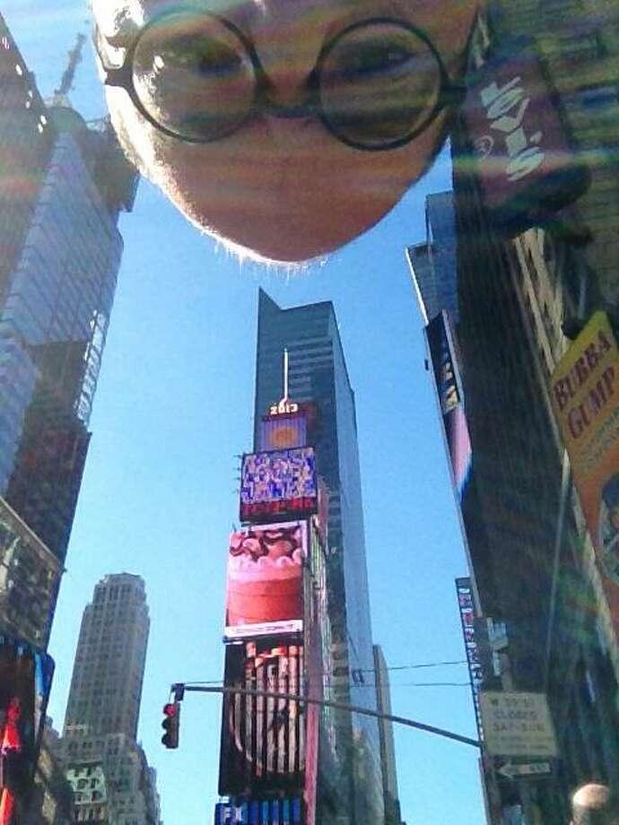 Times Square, September, 2013.