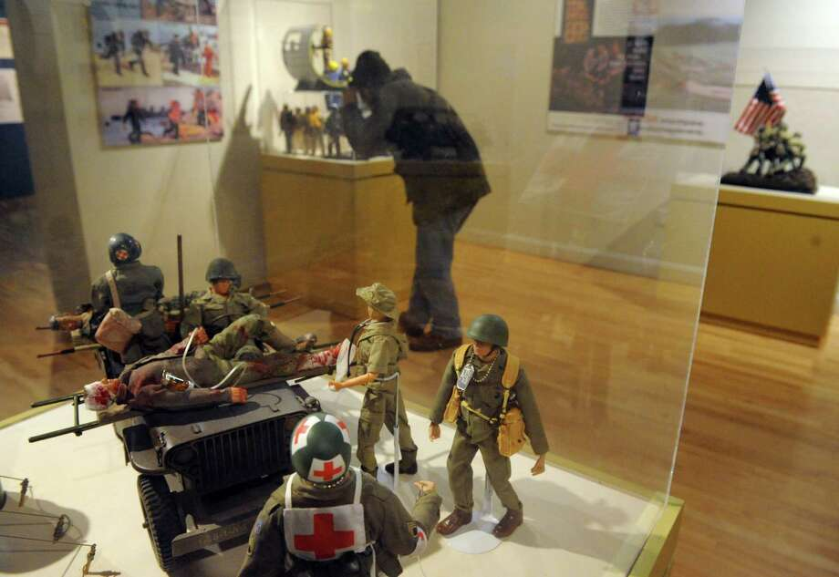 a€œToys & Tanksa€ exhibit at the NYS Military Museum on Saturday Feb. 8, 2014 in Saratoga Springs, N.Y. To celebrate GI Joea€™s 50th anniversary, GI Joe enthusiasts displayed their collections throughout the day. (Michael P. Farrell/Times Union) Photo: Michael P. Farrell / 00025668A