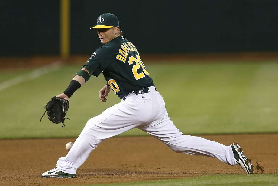 "Third baseman Josh Donaldson wants to make the A's a long-term relationship. ""The culture in Oakland as far as players is beginning to change,"" he said. Photo: Ian C. Bates, The Chronicle"