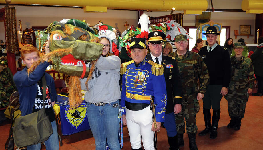 The 2nd Company Governor's Horse Corp came to the Asian New Year Celebration at Beardsley Zoo in Bridgeport, Conn. on Saturday February 8, 2014. 2014 marks the Year of the Horse. Photo: Christian Abraham / Connecticut Post