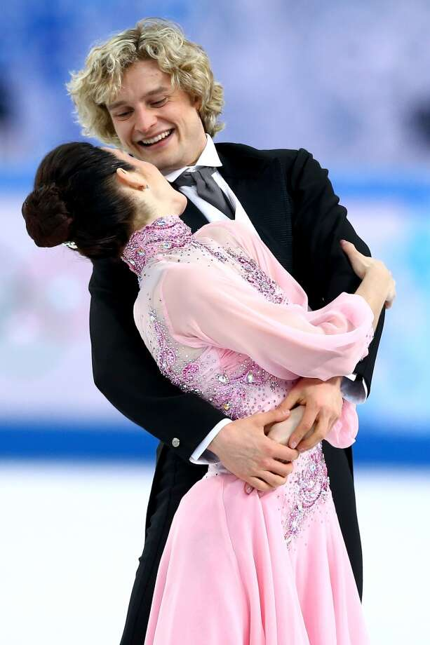SOCHI, RUSSIA - FEBRUARY 08:  Meryl Davis and Charlie White of the United States compete in the Figure Skating Team Ice Dance - Short Dance during day one of the Sochi 2014 Winter Olympics at Iceberg Skating Palace on February 8, 2014 in Sochi, Russia.  (Photo by Streeter Lecka/Getty Images) Photo: Getty Images