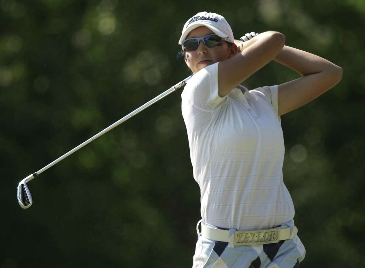 Taylor Coleman won the Class 5A girls state golf championship as a sophomore last year as the Johnson Jaguars finished third.