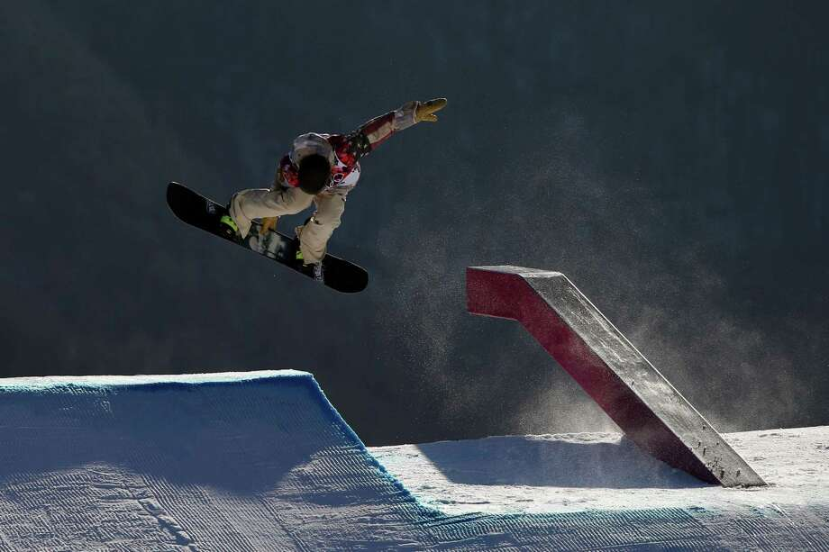 Sage Kotsenburg of USA takes 1st place  during the Snowboarding Men's Slopestyle at the Rosa Khutor Extreme Park on February 08, 2014 in Sochi, Russia. Photo: Christophe Pallot/Agence Zoom, Getty Images / 2014 Getty Images