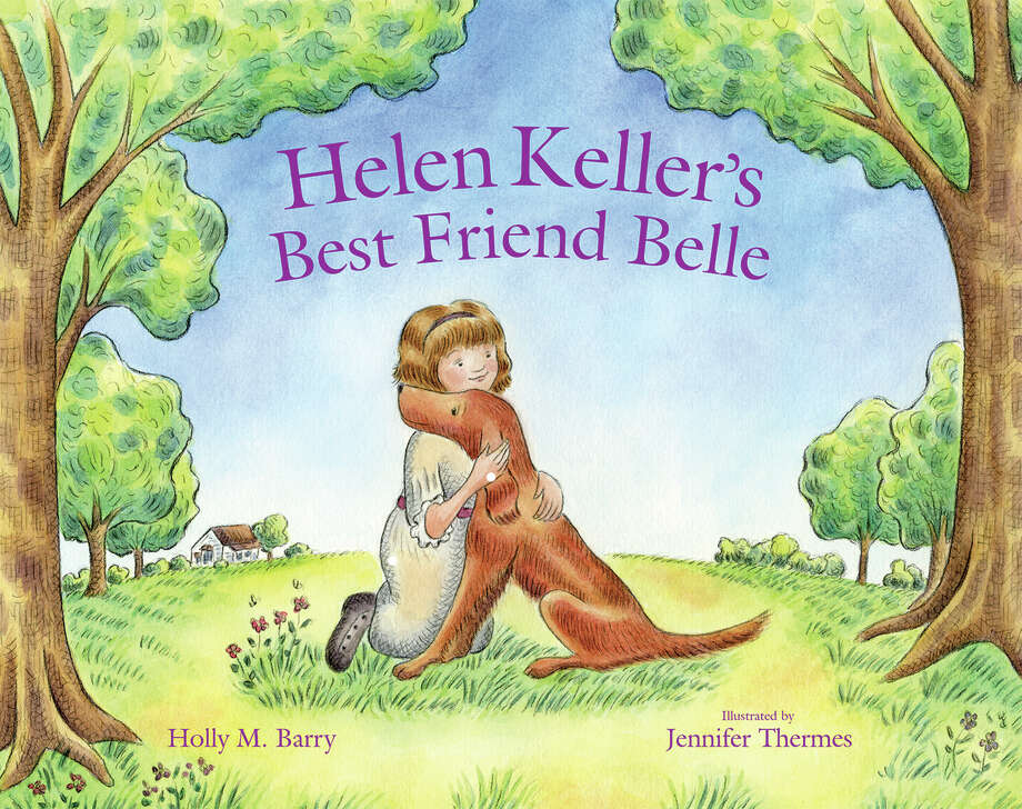 "The cover of ""Helen Keller's Best Friend Belle,"" a children's book  illustrated by Newtown artist Jennifer Thermes. Photo: Contributed Photo / The News-Times Contributed"